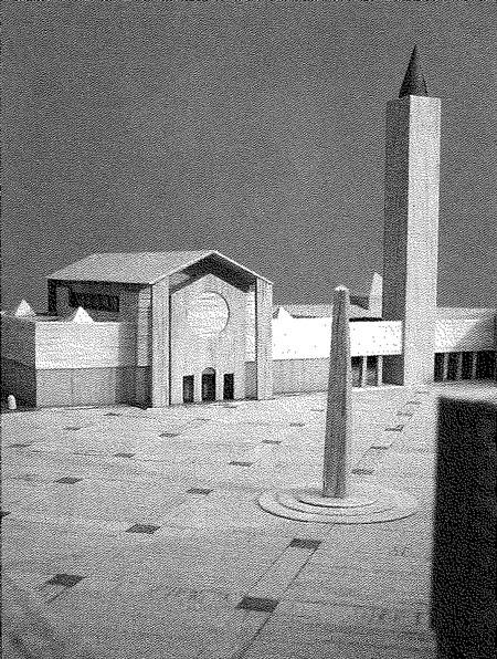 primo plastico piazza Paolo VI