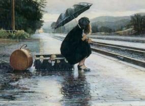 971 treno e pioggia